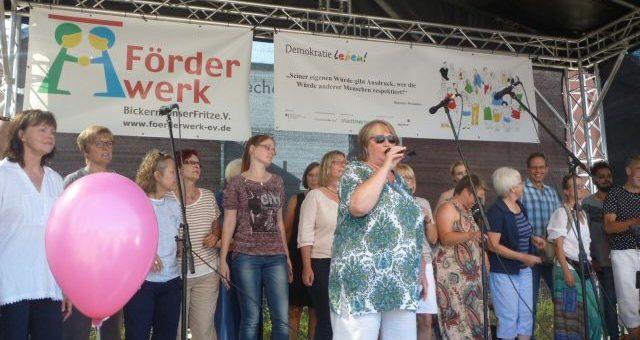 Menschenrechtechor in Herne